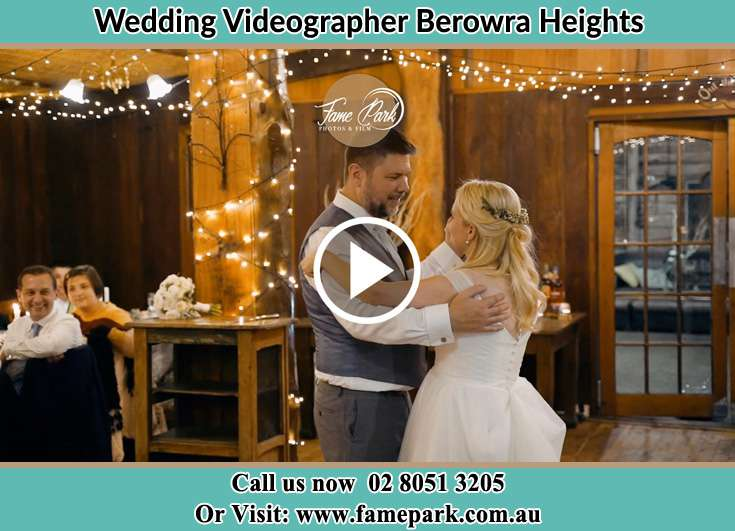 Bride and Groom dance at the dance floor Berowra Heights NSW 2082