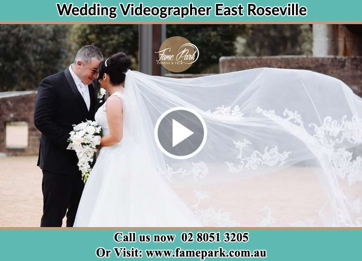 The Groom and the Bride close to each other East Roseville NSW 2069