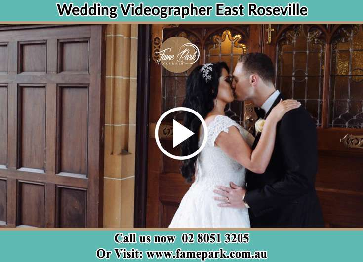 The new couple kissing East Roseville NSW 2069