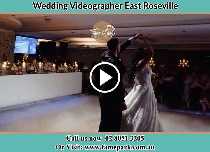 The new couple dancing on the dance floor East Roseville NSW 2069