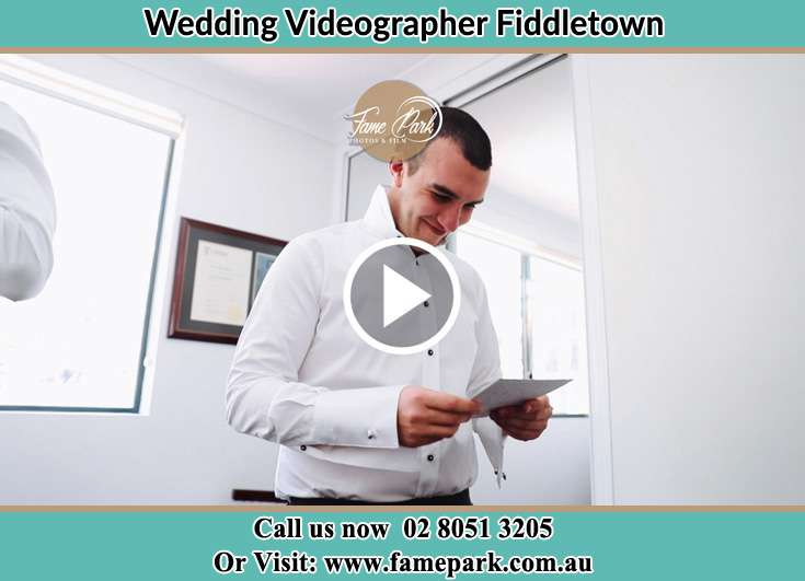 The Groom reading a note Fiddletown NSW 2159
