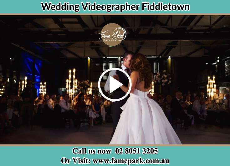 The newlyweds dancing on the dance floor Fiddletown NSW 2159