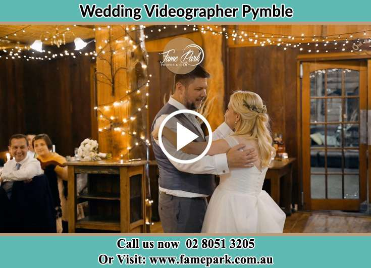 The newlyweds dancing on the dance floor Pymble NSW 2073