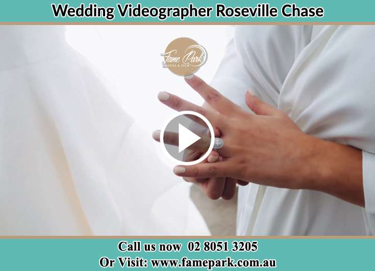 The wedding ring worn by the Bride Roseville Chase NSW 2069