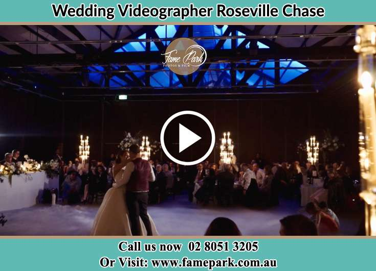 The new couple dancing on the dance floor Roseville Chase NSW 2069