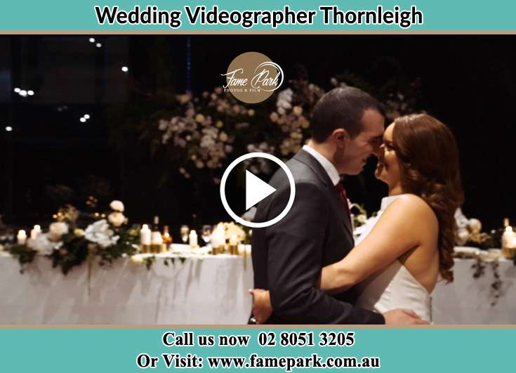 Bride and Groom looking at each other in the dance floor Thornleigh NSW 2120