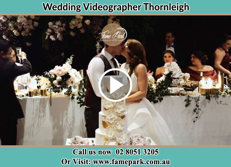 Bride and Groom kissed at the dance floor Thornleigh NSW 2120