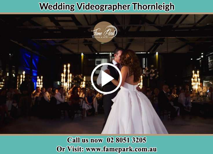 Bride and Groom at the dance floor Thornleigh NSW 2120