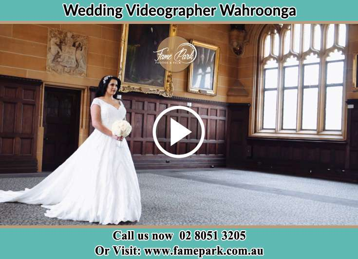 The bride walking at the aisle Wahroonga NSW 2076