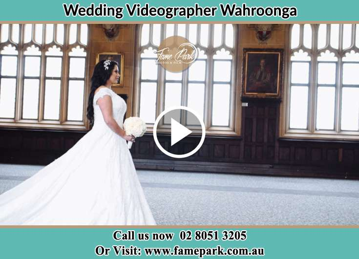 The bride walking the aisle Wahroonga NSW 2076