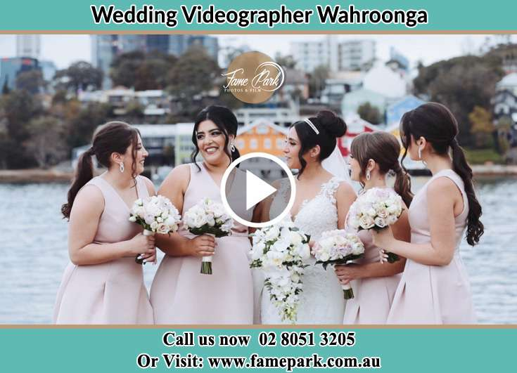 Girls talk with her brides maids Wahroonga NSW 2076