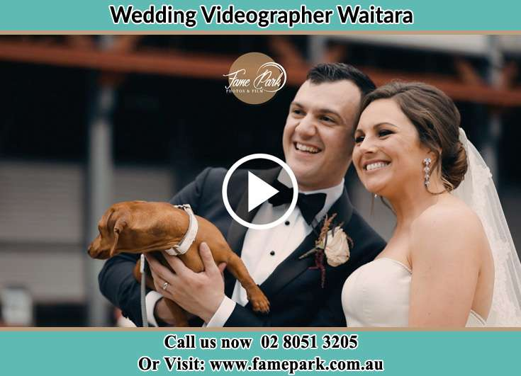 The new couple happy to see their dog Waitara NSW 2077