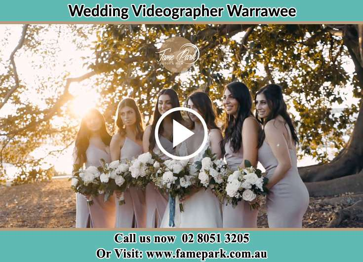 The bride with her brides maids Warrawee NSW 2074