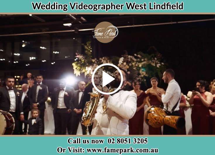 The newly couple having fun at the reception West Lindfield NSW 2070