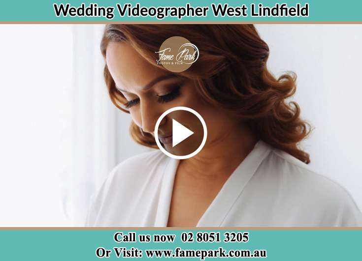 The bride smiling West Lindfield NSW 2070